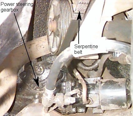 May 2001: As the power steering gearbox has started leaking again I